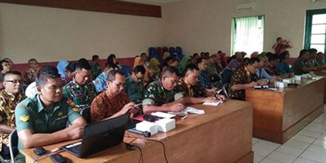 Jelang TMMD, Kodim 0703/Cilacap Gelar Rapat Koordinasi Bersama Pemda