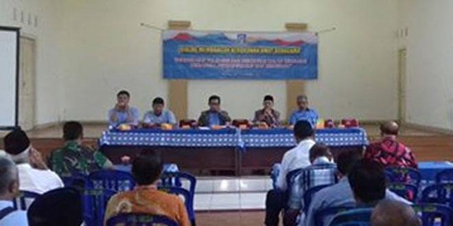 Babinsa 05/Sleman Menghadiri Dialog Kerukunan Antar Umat Beragama