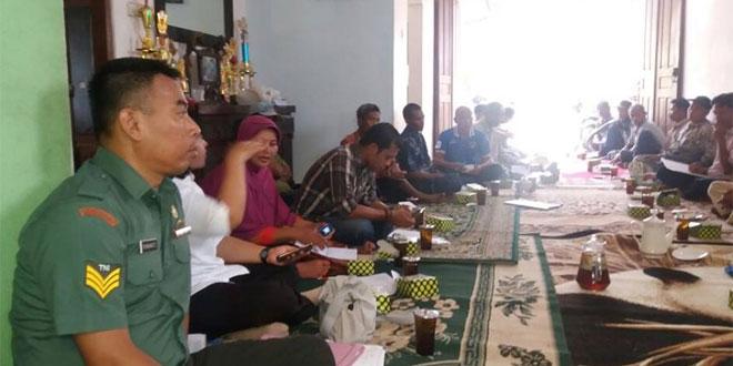 Babinsa Koramil 08/Kalasan Kawal Rapat Gapoktan