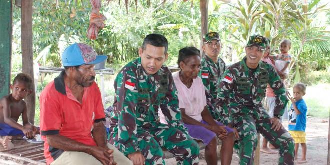 Keluarga Asuh dalam Pembinaan Teritorial Satgas Pamtas Yonif 407/PK