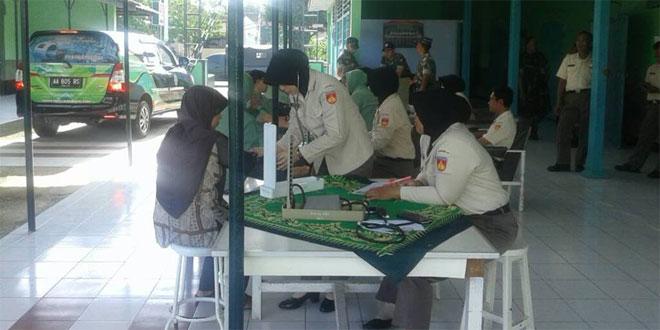 Persit KCK Cabang XXIX Dim 0709 Adakan Pemeriksaan IVA dan ...