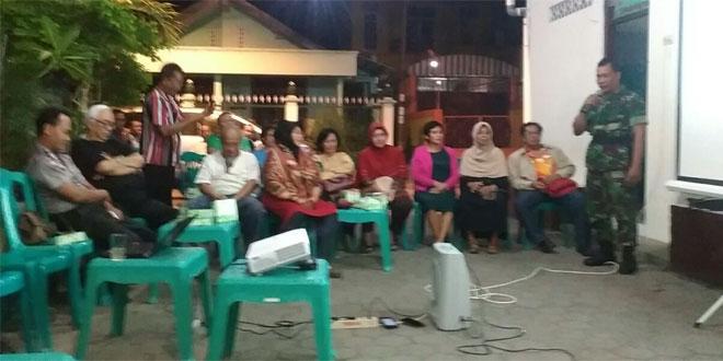 Babinsa Kelurahan Suryodiningratan Melaksanakan Komsos Dengan Tokoh Pemuda
