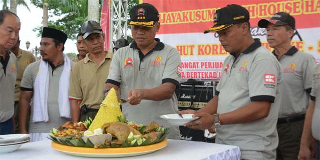 SYUKURAN HUT KE-56 KOREM 071/WK, BERSAMA RAKYAT TNI KUAT.