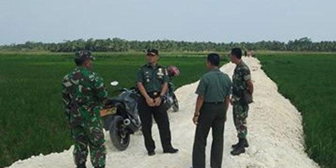 Kasdim 0703/Cilacap Survei Lokasi Sasaran TMMD di Desa Bulupayung, Kecamatan Patimuan