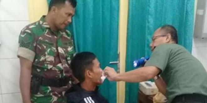 Bakti Sosial Kodim 0705/Magelang Dalam Rangka HUT TNI ke 72