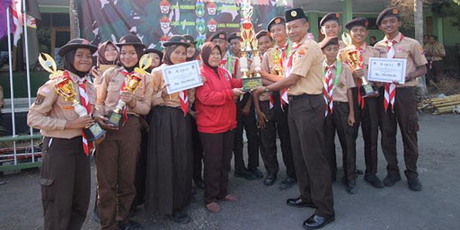 Kodim 0714/Salatiga Menyelenggarakan Lomba Pioneering Tingkat Penggalang Dan Penegak Tingkat SMP Dan SMA Se vKota Salatiga Dan Kabupaten Semarang Memperebutkan Piala Bergilir Dandim 0714/Salatiga Tahun 2017.