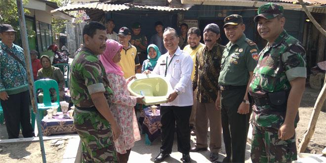 Danramil 12/Gondomanan Kodim 0734 Yogyakarta Memberikan Prasarana Jambanisasi