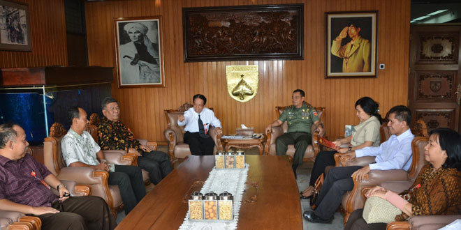 Mantapkan Sinergitas, Untag Semarang dan Kodam IV/Diponegoro Jalin Kerjasama