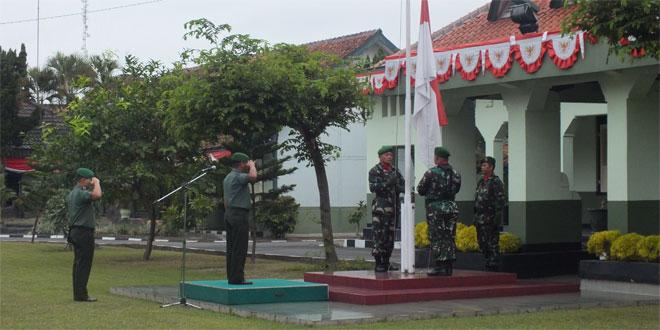 Upacara BenderaHari SeninKodim 0734/Yogyakarta