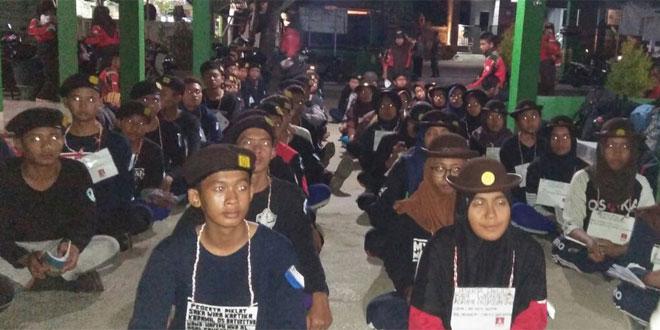 84 Anggota Baru Saka Wira Kartika Koramil 05/Baturetno Ikuti Diklat