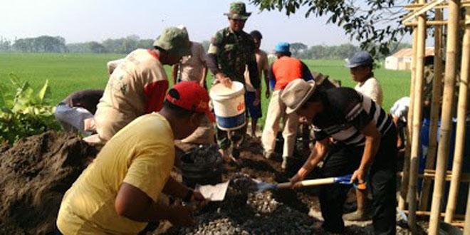 Wujud Kemanunggalan TNI bersama Rakyat