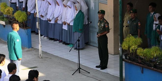 """Dandim Jogjakarta Tekankan """"Pelajar SMA Muhamdiyah 5/Yk Harus Senantiasa Mempelajari, Mempedomani Sejarah Perjuangan Bangsa"""""""