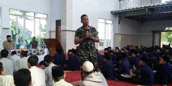 Dandim 0714/Salatiga Silaturahmi ke Ponpes Islam Al Irsyad Tengaran