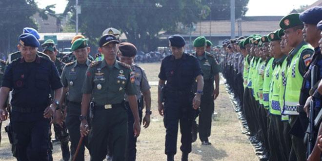 Dandim 0734/Yka Pimpin Apel Gelar Pasukan di Alun-Alun Utara Yogyakarta