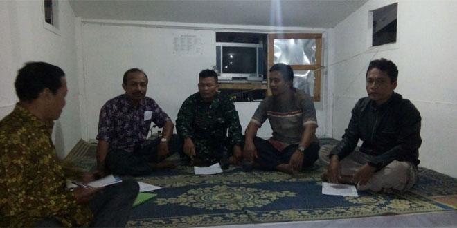 Babinsa Koramil 03/Gondokusuman Melaksanakan Ronda Malam di Wilayah Kelurahan Baciro