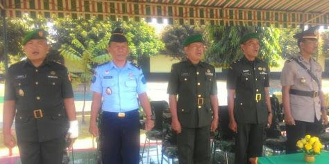 Letda Arh Warsono Hadiri Pembukaan Dikjur Infanteri Tamtama
