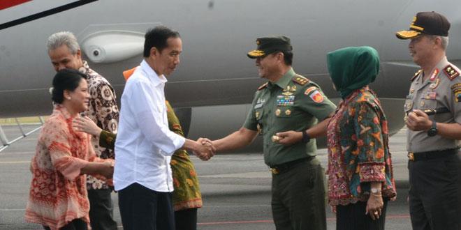 Pangdam IV Dampingi Kunjungan Kerja Presiden Jokowi di Salatiga