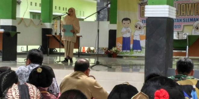 Lomba Pidato Bahasa Jawa Tk Kecamatan Sleman 2017 Sebagai Refleksi Pelestari Budaya Bangsa
