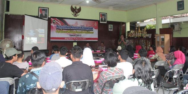 Dandim 0734/Yogyakarta Sosialisasikan Antisipasi Ancaman Masa Depan Bagi Generasi Muda