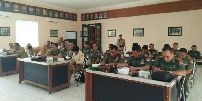 Kodim 0703/Cilacap Gelar Rakor Bhakti Sosial TNI KB Kesehatan