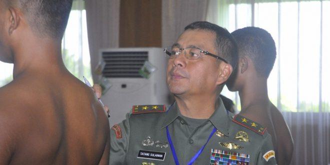 Pangdam IV Memilih Putra Terbaik Untuk Menjadi Bintara TNI AD
