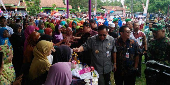 Bazar Murah Dan Pelayanan Kesehatan Gratis Semarakan TMMD Sengkuyung Tahab III Kodim Cilacap