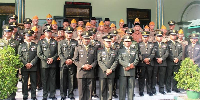 Acara Ramah Tamah Dandim 0721/Blora Bersama Para Veteran