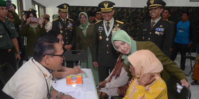 Kodam IV/Diponegoro Berbagi Kebahagiaan Di Hari Ulang Tahun