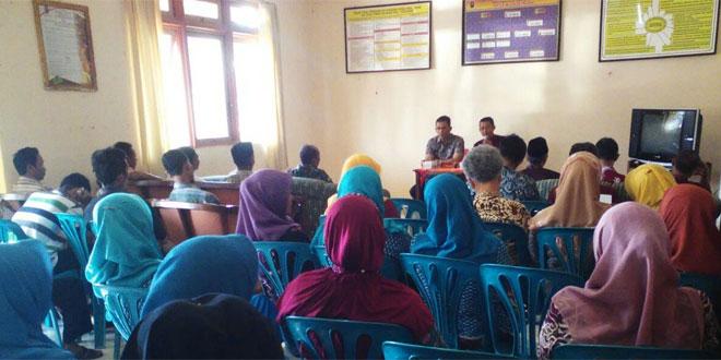 Anggota Koramil 03/Parakan Bersama Dinas Terkait Melaksanakan Pembinaan di Desa Wanutengah Parakan Dalam Rangka Pembentukan Desa Siaga