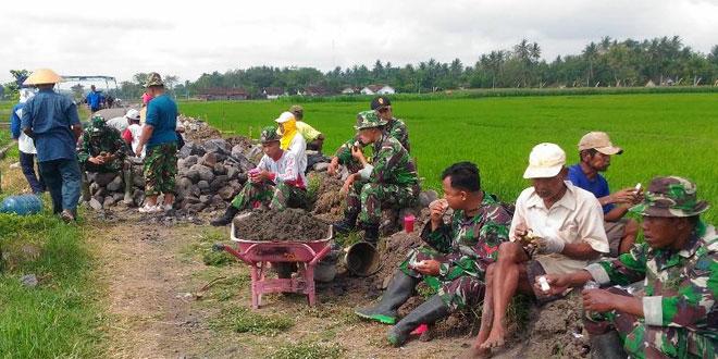 Dengan TMMD Semakin Eratkan Kemanunggalan TNI Rakyat