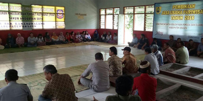 Sosialisasi Penertiban Kawasan Gunung Kemukus Bersama Tim Kab Sragen