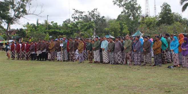 Kodim 0731/Kulon Progo Mengikuti Upacara Hari Jadi Kabupaten Kulon Progo Ke-66 Tahun 2017