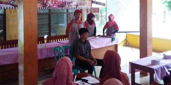 Penyuluhan Oleh Palang Merah Indonesia PMI Saat TMMD Non Fisik Kodim 0721/Blora