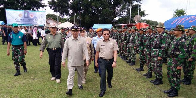 Antisipasi Erupsi Merapi, Koramil 07/Ngemplak Bersama BPBD DIY Gelar Gladi Lapang