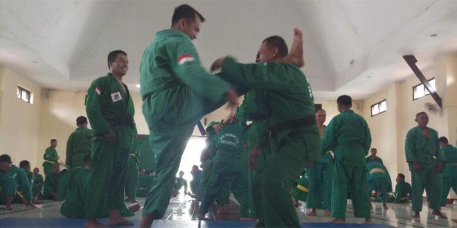 Bekali Diri, Prajurit Kodim Magelang Latihan Yong Moo Do