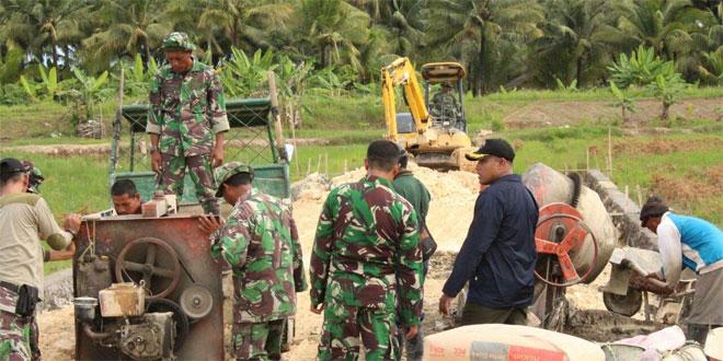Dandim Cilacap Cek Langsung Hasil TMMD Sengkuyung Tahap III di Desa Bulupayung