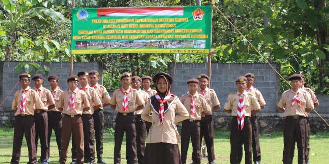 Saka Wira Kartika Kodim 0731/Kulon Progo Laksanakan Persami
