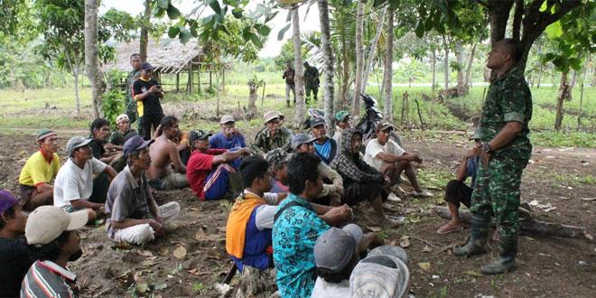 Kunjungan Kerja Dandim Cilacap Lakukan Peninjauan Wilayah Terpencil