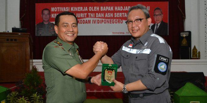 Ingin Kinerja Meningkat, Pangdam IV/Diponegoro Hadirkan Motivator Hadjar Seti Adji