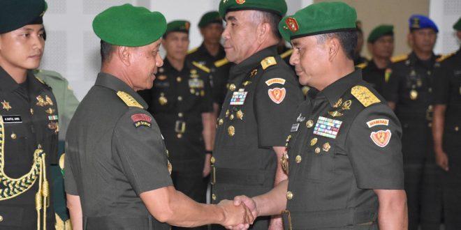 Kasad Lantik Mayjen TNI Tatang Sulaiman Sebagai Wakasad