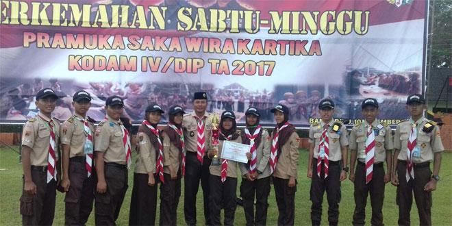 "Saka Wira Kartika ""Raden Mas Said"" Juara II Dalam Perjusami Tingkat Kodam IV/Diponegoro"