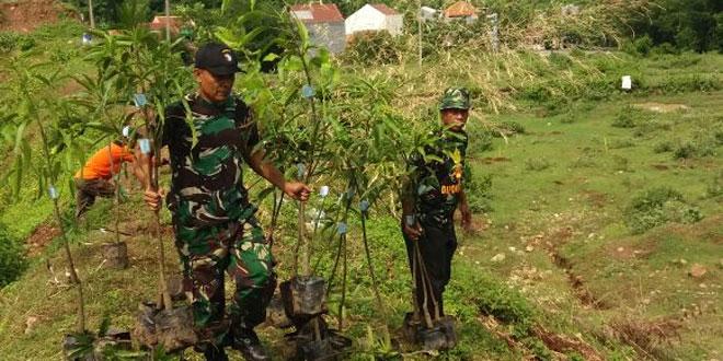 Pendam IV/Diponegoro Turut Serta Lesatarikan Alam