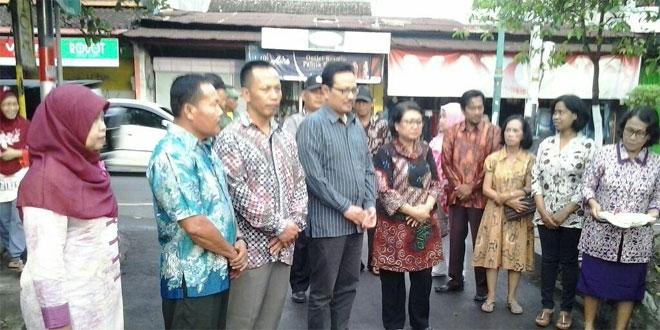 Danramil 13/Ngampilan Menghadiri Peresmian Kampung KB di Tejokusuman