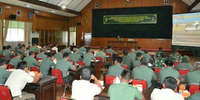 Satukan Pemahaman Logistik, Kodam IV/Diponegoro Selenggarakan Sosialisasi