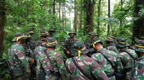 Pelihara Kemampuan Prajurit, Yonif 406/CK Latihan Perang Hutan