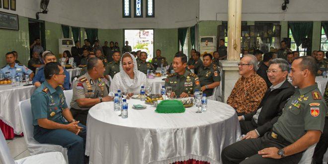 Pangdam IV Silaturahmi dan Ramah Tamah Dengan Forkopimda Kota Semarang