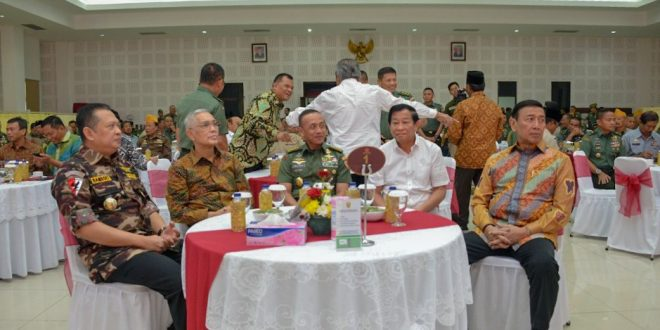 Kasad : Forum Silaturahmi Dengan KBT Sebagai Penegasan Komitmen Netralitas TNI AD