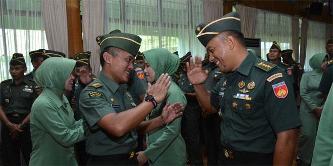Pangdam IV/Diponegoro : Kenaikan Pangkat Sumber Motivasi dan Inspirasi untuk Memantapkan Kejuangan
