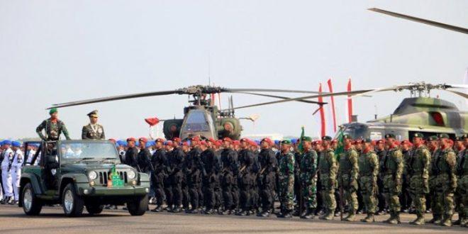 Puncak HUT Kodam IV dan HUT TNI, Digelar Pameran Alutsista