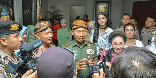 Pangdam IV : Film Sultan Agung Tunjukkan Soliditas Sangat Diperlukan Dalam Perjuangan